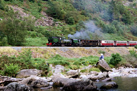 Welsh Highland Railway Aberglaslyn Pass 11/08/12