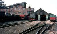 Backworth loco shed