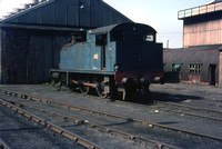 No 40 at Ashington is a RSH built 0-6-0 side tank built in 1954, works number 7765.