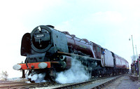 Ex LMS 'Coronation' pacific 46229 'Duches of Hamilton'
