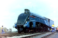 Ex LNER 'A4' pacific 4498 'Sir Nigel Gresley'.