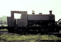 Andrew Barclay 0-6-0 saddle tank out of use at Ladysmith