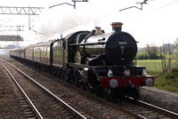 5043 'Earl of Mount Edgecombe' at Acton Bridge Cheshire 2011