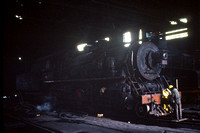 SY 1517 undergoes some rather drastic repairs in the shed at Baotou steelworks
