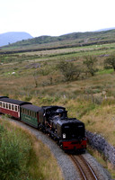 Welsh Highland Railway near Rhyd Ddu 11/08/12