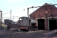 'Amazon' - Vulcan Foundry built 'Austerity' works 5297 of 1945 at Harrington loco shed , Lowca