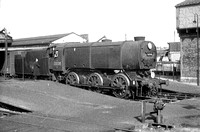 Bulleid Q1 0-6-0 33008 at Salisbury 1963