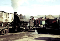 Robert Stephenson and Hawthorn 0-4-0 saddle tank at Whitehaven Harbour