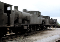 Andrew Barclay 0-6-0 side tanks at Stewarts and Lloyds Harlaxton,Lincs