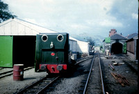 Talyllyn Railway shed and workshops at Pendre