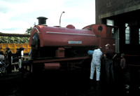 'Agecroft No 1' Robert Stephenson and Hawthorn built in 1948, works number 7416