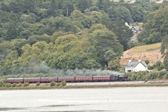 'K4' 61994  'The Great Marquess' near Tal y Cafn on the 'Welsh Mountaineer', 29.07.14