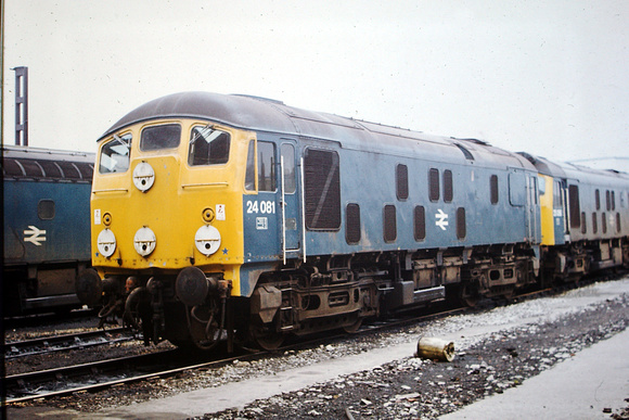 24 081, one of the last of its type, at Birkenhead shed.