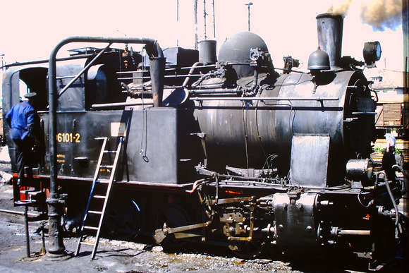 0-6-0T 99.6101 built by Henschel in 1914 at Wernigerode depot