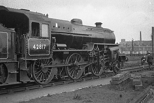 Ex-works 'Crab' 2-6-0 at Bolton