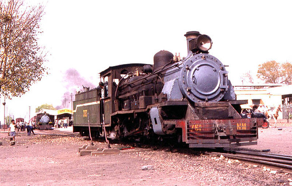 NM class 4-6-2 #761 at Gwalior