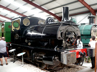 Ex Lanchashire and Yorkshire Railway no19, an 0-4-0st or  'pug'