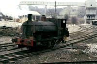 Peckett 0-4-0 saddle tank 'Uppingham' at Derbyshire Stone Quarries, Wirksworth.