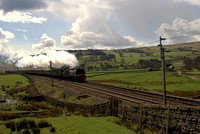 34067 Tangmere at Greenholme on the CME 12/04/12