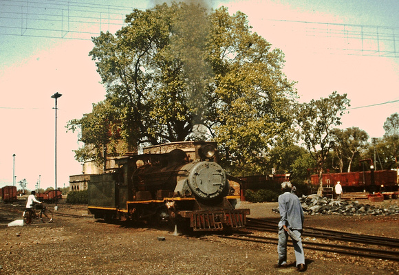 NM class at Gwalior.1983