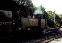 Vale of Rheidol No 9 'Prince of Wales' in BR green livery